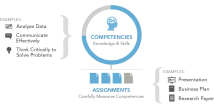Competency-based education, used at Capella University, WGU, and Southern New Hampshire, etc.; a concept based on the mastery learning method.