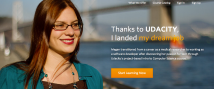 "Udacity platform, one example of education provider focusing on eduction for job skills. ""Our new courses address the widening job skills gap in US and around the world"" (Thrun, 2014)."